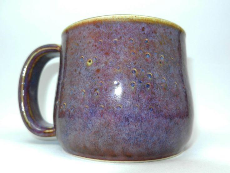 Purple Chunk Mug by ZozPots on Etsy https://www.etsy.com/listing/220294911/purple-chunk-mug