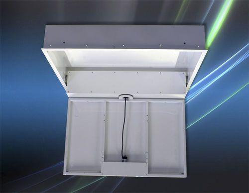 Soporte para TV motorizado para techo / con mando a distancia ULISSE ROTOR MARINE Digisonic