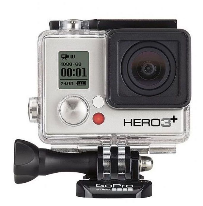 GoPro HD 3 Camera in silver. You can take this camera to 40 meter deep under water. http://zocko.it/LDUNO