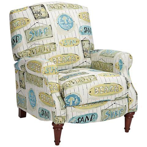 Sunshine Beach 3-Way Recliner Chair - #24W29 | Lamps Plus