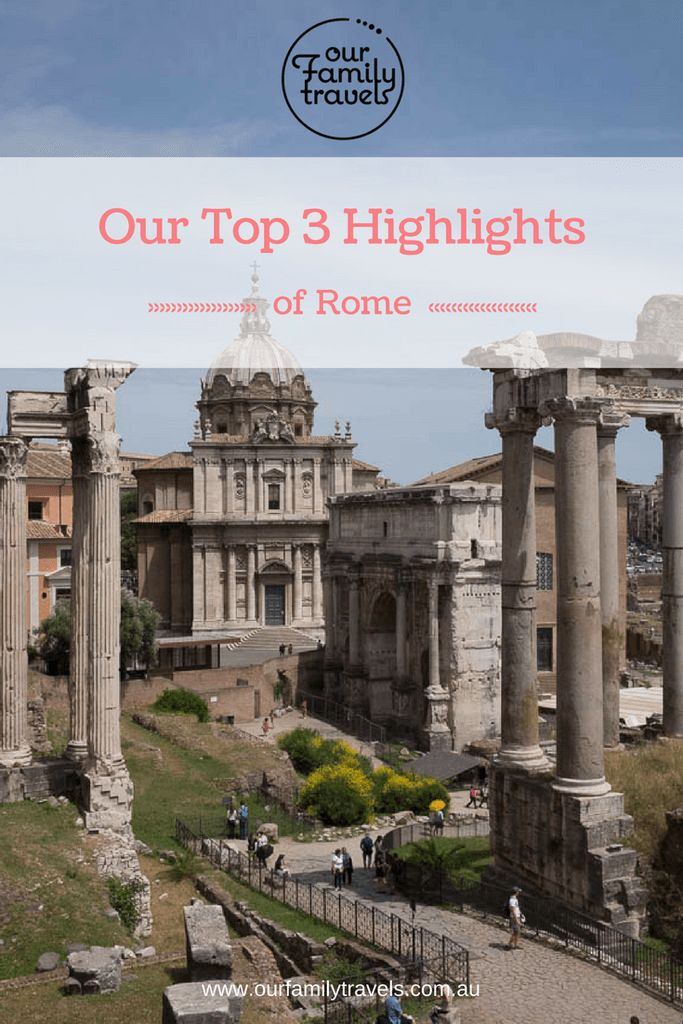 Top highlights of Rome