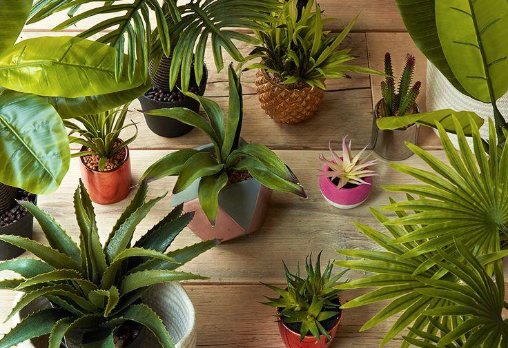 les 25 meilleures id es de la cat gorie fausses plantes sur pinterest boh me supports pour. Black Bedroom Furniture Sets. Home Design Ideas