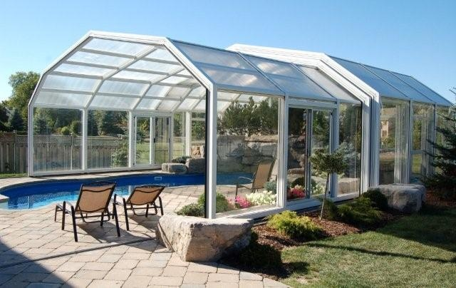 17 best ideas about pool enclosures on pinterest - Retractable swimming pool enclosures ...