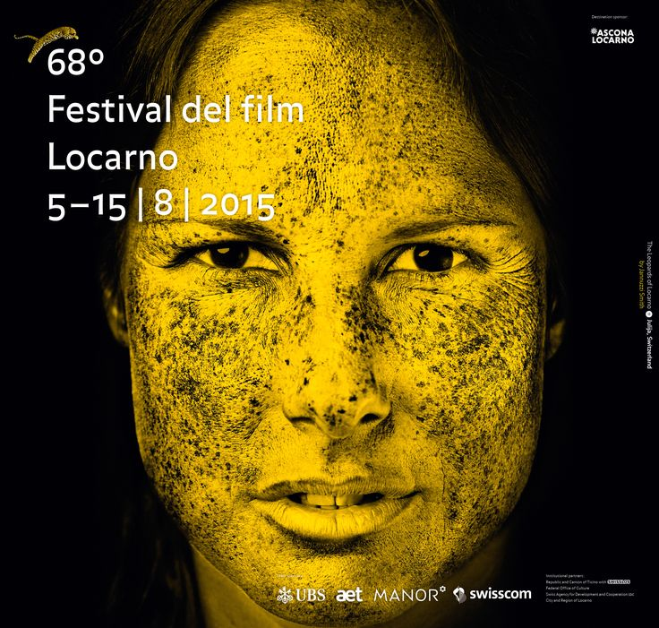 "#Locarno68 The posters that accompany the Festival's 68th edition constitute a series of portraits of festival-goers, a concept devised by the agency Jannuzzi Smith. The brief was to discover and highlight the hidden ""leopards"" in those attending Locarno. Among the hundreds of photos taken, eleven were selected to represent the 68th edition."