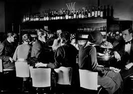 Cocktails have been around since the early 1800s, with the Sazerac as one of the first known by name in the 1820s. But with the advent of cheaply-made illegal alcohol during Prohibition, they quickly became popular, often to cover the taste of the inferior alcohol. Fashionable parties with fashionable drinks.