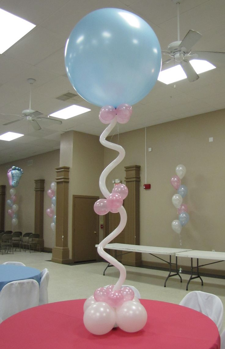 29 Best Balloons Images On Pinterest Balloon Baby Centerpieces Ocala Baby  Shower 3 Ft Blue And