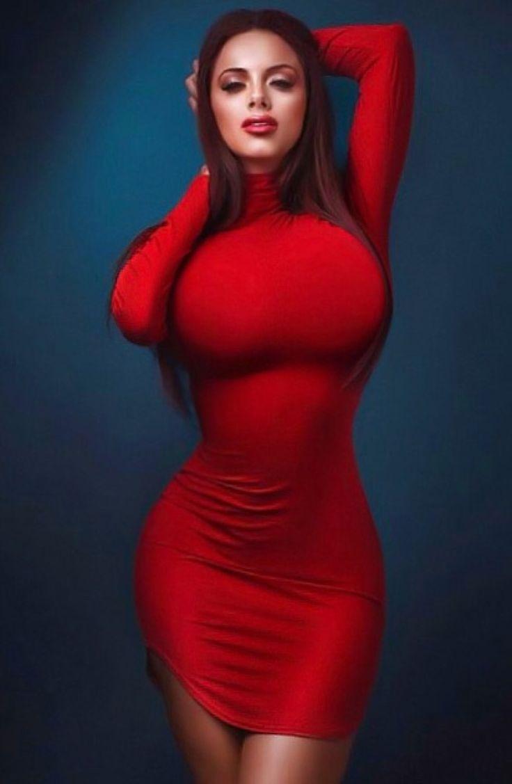 Dress big red tits tight
