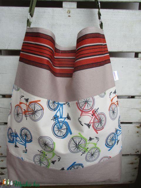 """Bring-a-bag II.""- bicajos táska (Mintamokus) - Meska.hu"