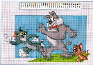 ENCANTOS EM PONTO CRUZ: Tom e Jerry em Ponto Cruz