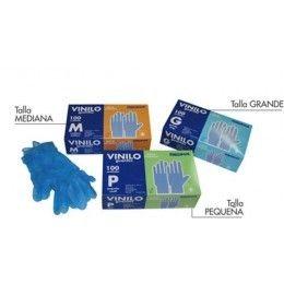 Guantes fabricados en vinilo, una alternativa para los alérgicos al lates. Disponibles en tres tallas diferentes, son ambidiestros. Los encontraras en color azul espolvoreado y en color blanco sin polvo. Presentación en caja de 100 unidades. http://www.ilvo.es/es/product/guante-vinilo1