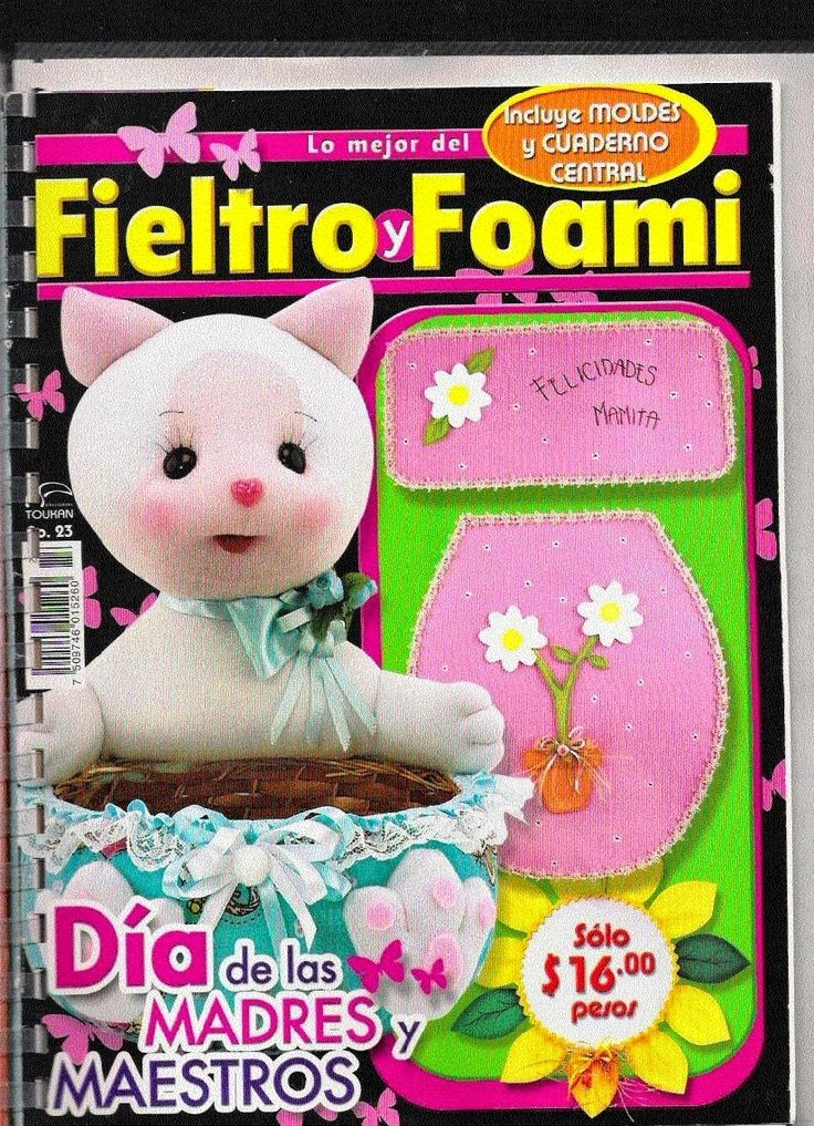 Revistas de Foamy gratis: Revistas gratis Fieltro y Foami gratis