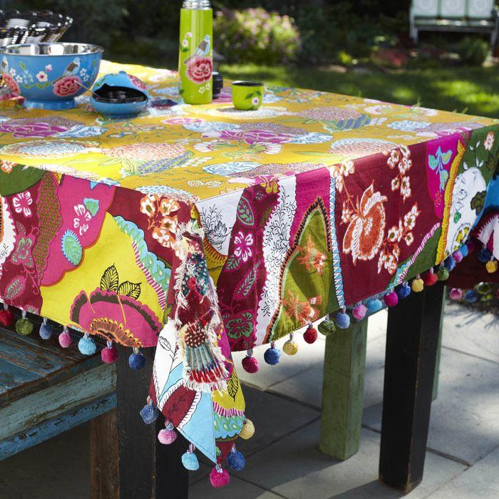 Pretty Boho Tablecloth
