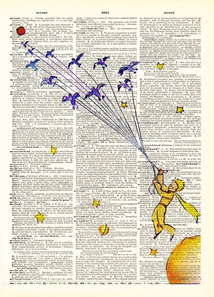 Fly Little Prince Antoine de Saint-Exupéry Print