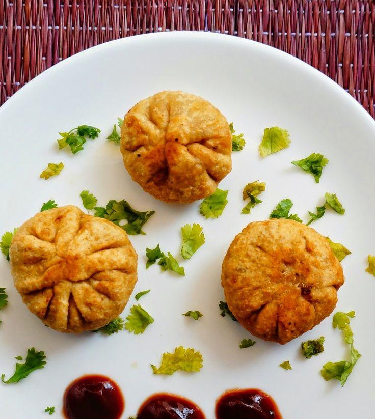 Scrumptious Indian Recipes: How to make Vegetable Potli samosas