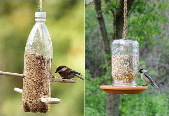 Haz tu propio comedero de pájaros con botellas recicladas #TheTaiSpa #Ecotip #Reciclaje
