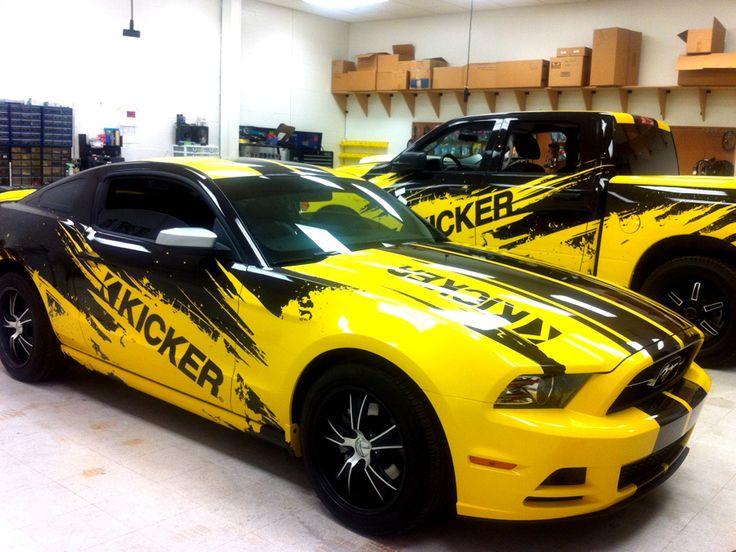Stillwater Kicker Car Wraps   Precision Sign & Design