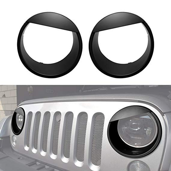 Allinoneparts Jeep Wrangler Taillights Covers Tail Light Guard
