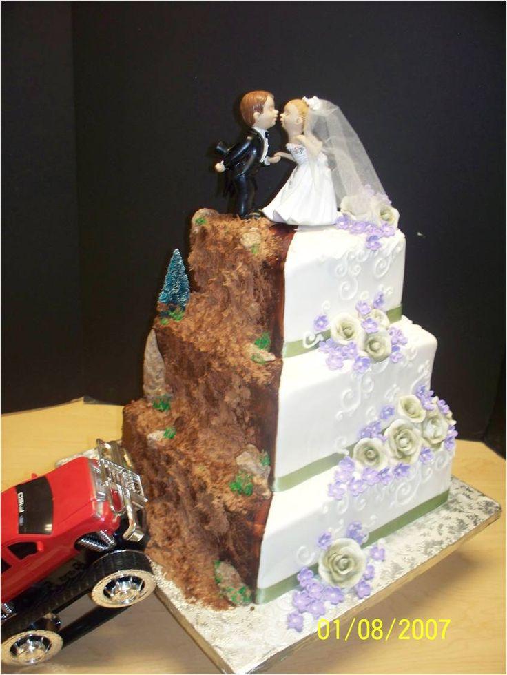 Half Bride Half Groom Cake |