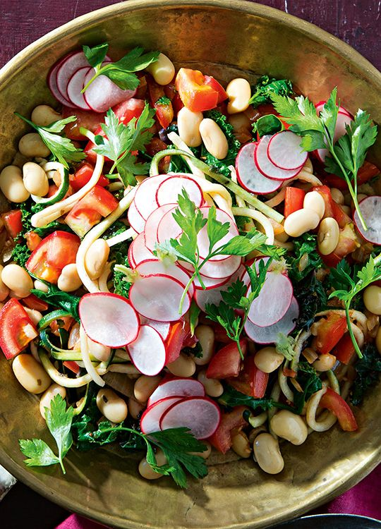 How to make Bean, Tomato & Radish Salad