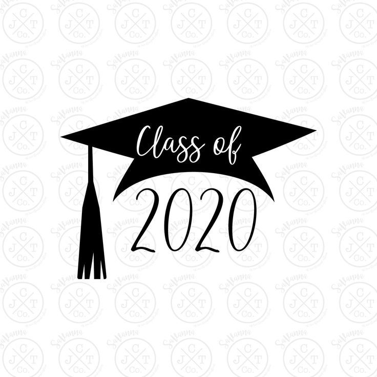 Class of 2020 (Female) SVG DXF JPEG Graduation Design