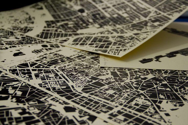 Homelandmap: le mappe geometriche di Daniele Niccolini ph by Emi Mei