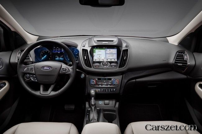 2018-2019 Ford updated crossover Escape (Kuga)