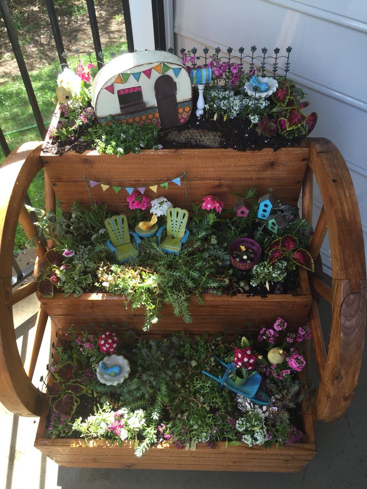 how to make fairy garden fence