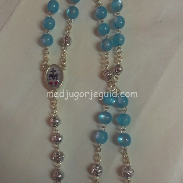 The Chaplet of Saint Michael Rosary Beads