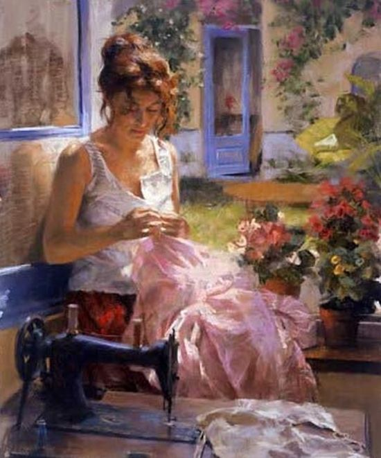 Vicente Romero Redondo (Spanish figurative painter, born 1956).