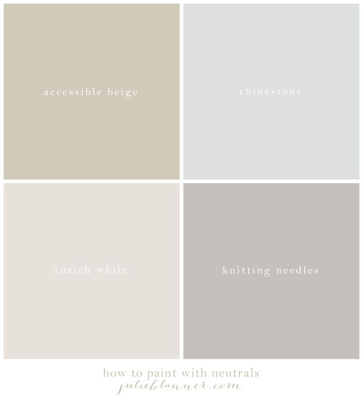 our neutral paint palette beautiful paint colors and