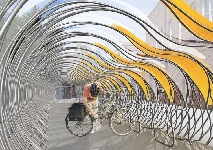 AECCafe.com - ArchShowcase - Pasadena Bike Transit Center in Los Angeles, California by Peter Tolkin Architecture
