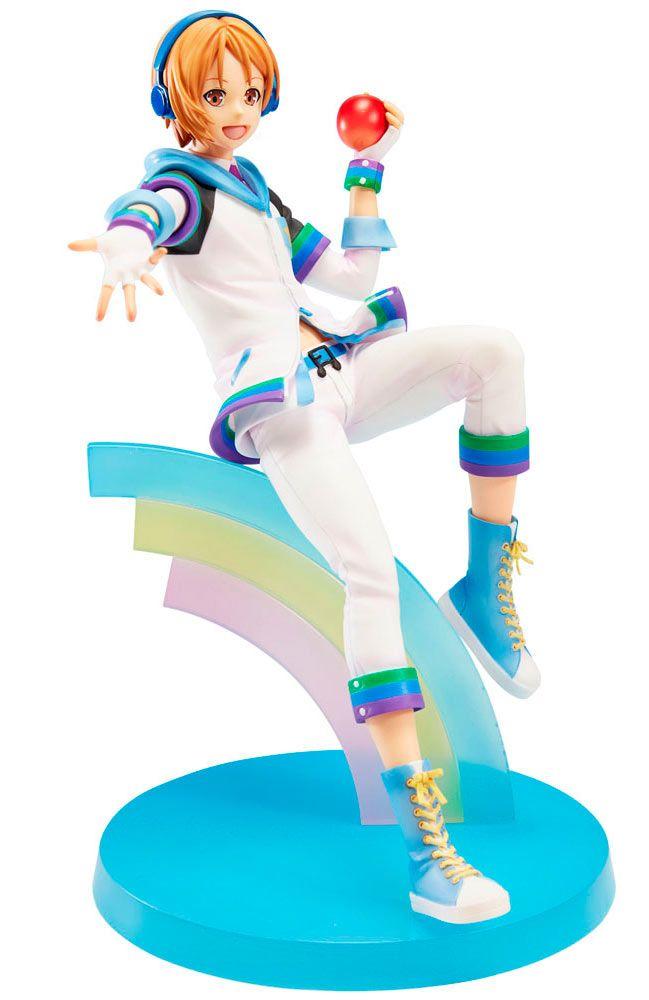 Estatua Hiro Hayami 18 cm. King of Prism by PrettyRhythm. Union Creative  Preciosa y llamativa pieza en forma de estatua con excelente pintado y moldeado del personaje Hiro Hayami de 18 cm de altura perteneciente al anime King of Prism by PrettyRhythm, fabricada en PVC y 100% oficial y licenciada por Union Creative.