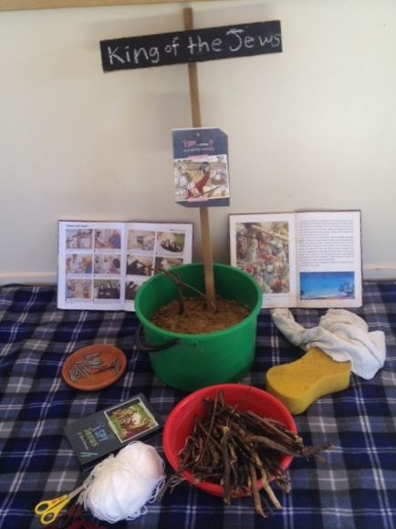 Christian, Easter story, stations of the cross, emergent church, kids church, sunday school, Jesus provocation, Children.