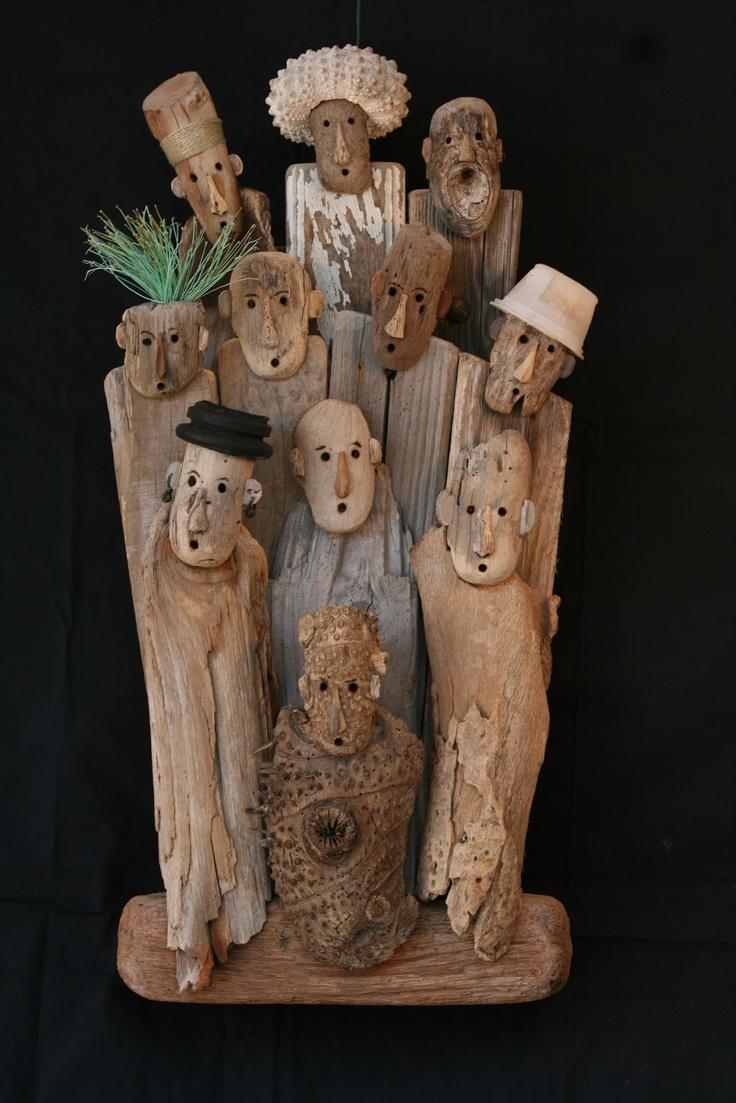 Etonnemen profon driftwood ideas pinterest schwemmholz wiederverwerte - Bois flotte montreal ...