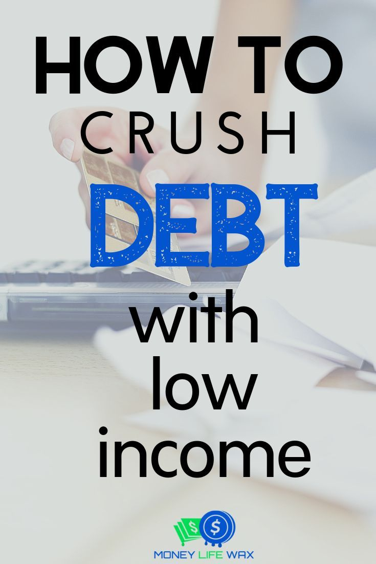 9 Steps To Get Out Of Debt On A Low Income