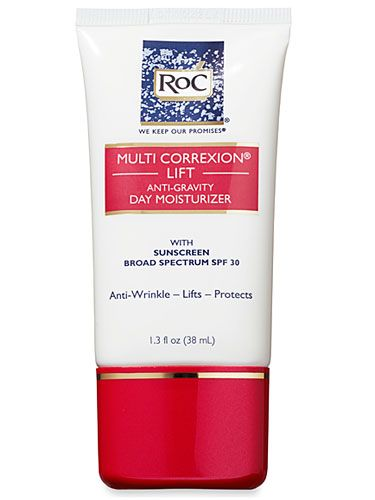 If you're looking for a non-retinol option, RoC Multi Correxion Lift Anti-Gravity Day Moisturizer SPF 30 fills the bill.