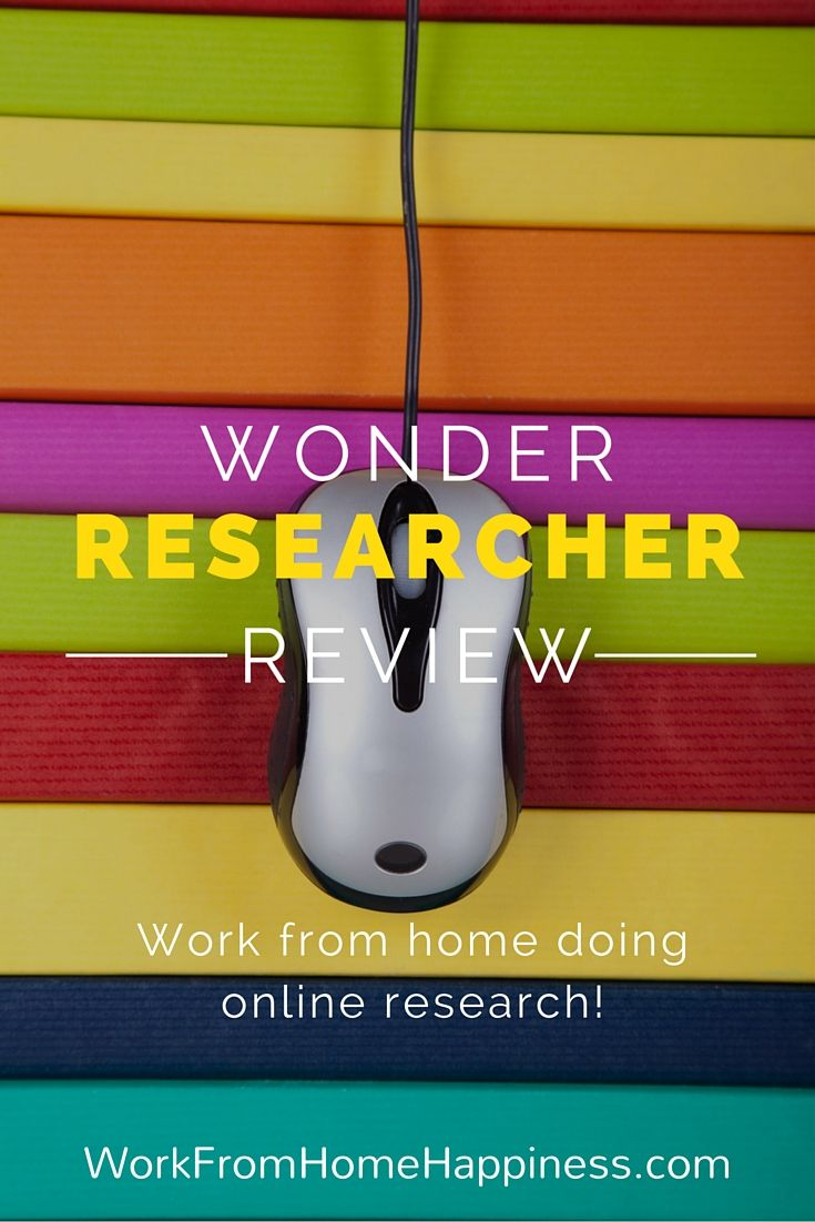 Become a human search engine when you work from home as a Wonder Researcher. This is a flexible work from home opportunity that lets you work wherever, whenever, and however much you want!