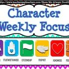 SALE CHEAP!!!! 42 WEEK Character Education Posters. $3.00  Each poster contains an inspirational quote, an antonym of each character quality, & GOAL setting. PERFECT for pleasing administration.