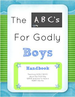 The ABC's for Godly Boys. Also have for girls. Fun curriculum that teaches character and doctrine.