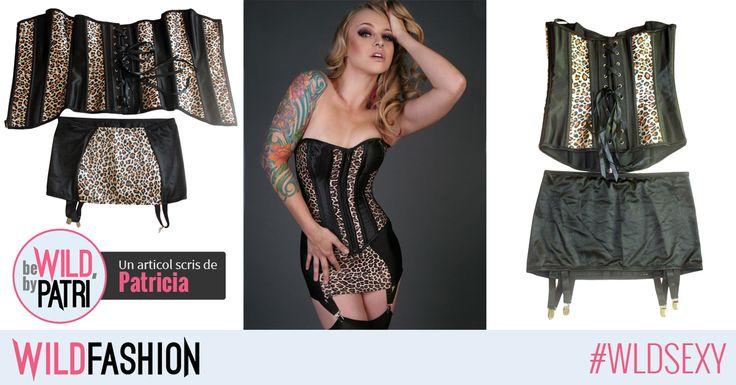Aveti nevoie de un corset pentru o seara #wild? Acesta vine la pachet si cu un portjartier senzual, iar acum e si la MEGA DISCOUNT! <3