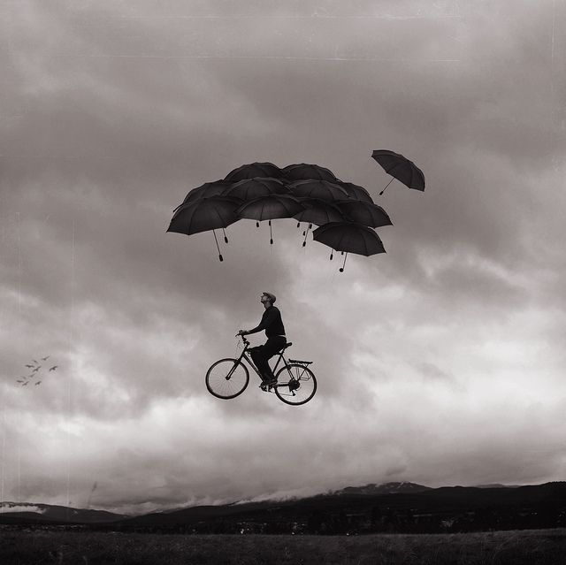 There's something so inspirational about this -- Flying Contraption | Joel Robinson