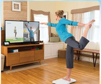Des exercices intéressants avec Wii Fit U
