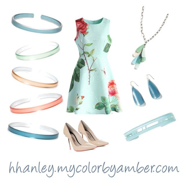 """""""Color by Amber 28"""" by hhanley-colorbyamber on Polyvore featuring Chicwish, Alöe and Sophia Webster"""