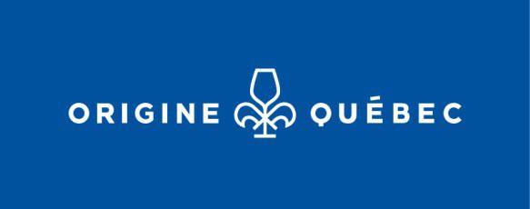 SOCIÉTÉ DES ALCOOLS DU QUÉBEC - SAQ - Logo Origine Québec