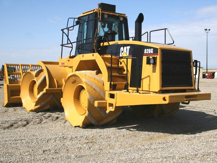 Landfills With Tractors : Best images about heavy equipment on pinterest trucks