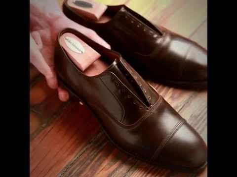 How to care for Allen Edmonds Cordovan shoes.   http://www.allenedmonds.com/shoecare