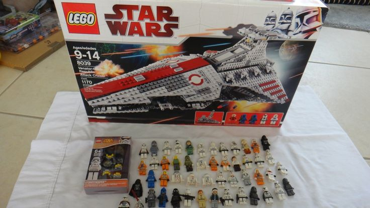 50 Lego star wars mini figures Lego set 8039 NIB and Lego mini figure watch