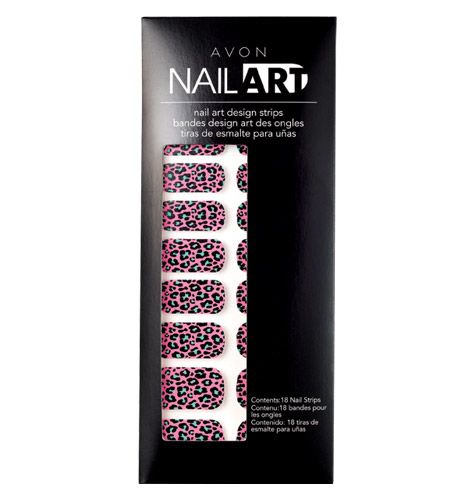 Nail Art from AVON. LOVE these!