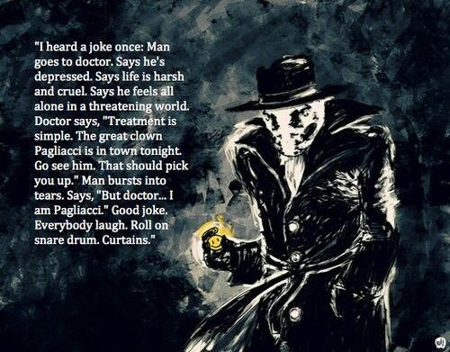 Rorschach Quote from Watchmen