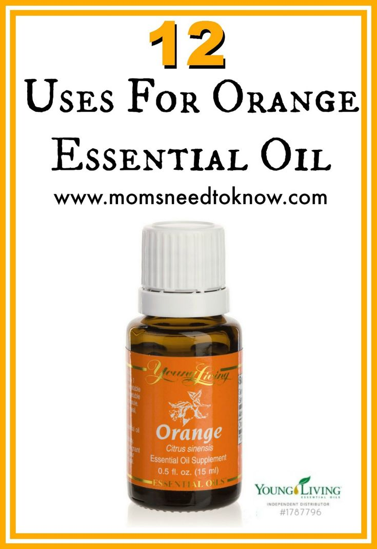 12 Ways to Use Orange Essential Oils - From cleaning to relieving stress, orange oil is very versatile!